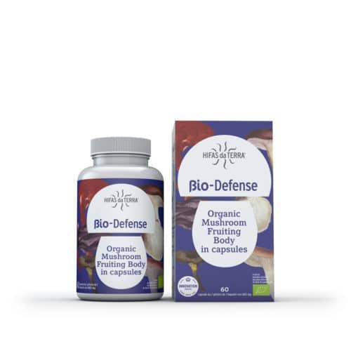 Bio Defense Contribue au fonctionnement normal du système immunitaire 60 gél. - Hifas da Terra